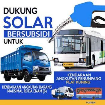 Dukung Subsidi Solar