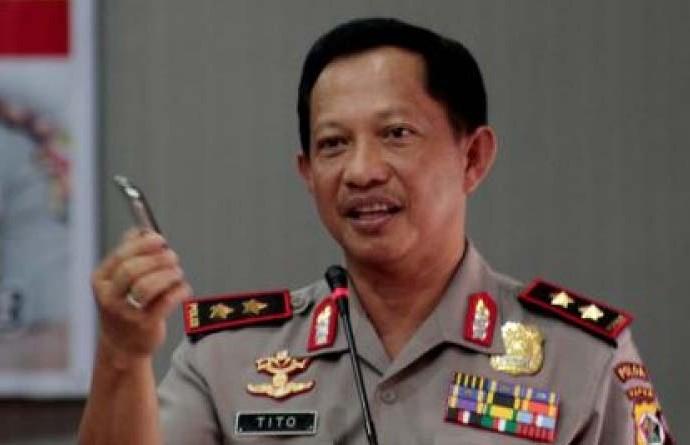 Dengan Pilih Tito Kanavian Sebagai Kapolri, Jokowi Tidak Dibawah Bayang Kekuatan Pihak Tertentu.