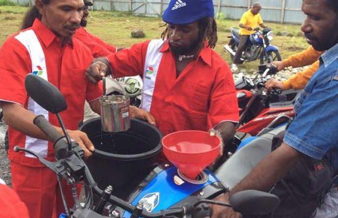 Pertamina Wujudkan <br>Konsep Program Papua Satu Harga BBM Nasional