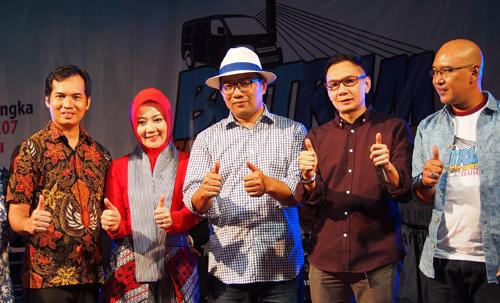 """110 Unit Daihatsu Gran Max """"Moko"""" Ramaikan HUT Bandung ke-207"""