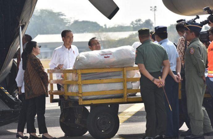 JOKOWI LEPAS BANTUAN PERTAMA UNTUK ROHINGYA DI BANGLADESH