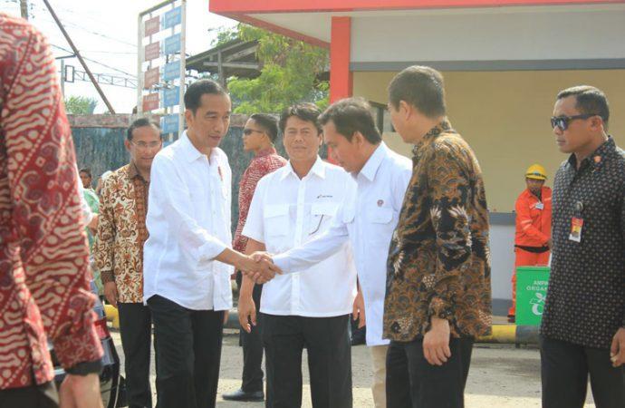 Presiden Resmikan 16 Lembaga Penyalur BBM