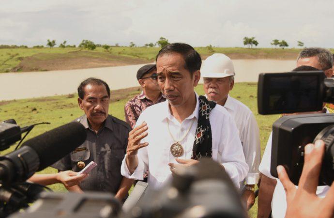 Jokowi Minta Wartawan Sore-sore Lihat Embung