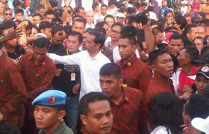 Jokowi : Kita Tinggalkan Jawa Sentris