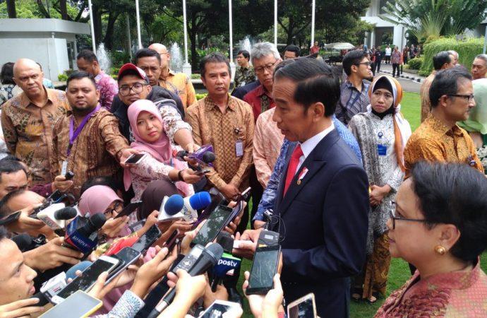 Jokowi : Konstitusi Jamin Kebebasan Beragama