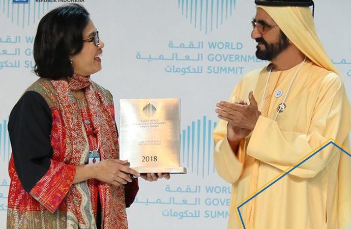 Internasional Tunjuk Sri Mulyani Menteri Terbaik Dunia