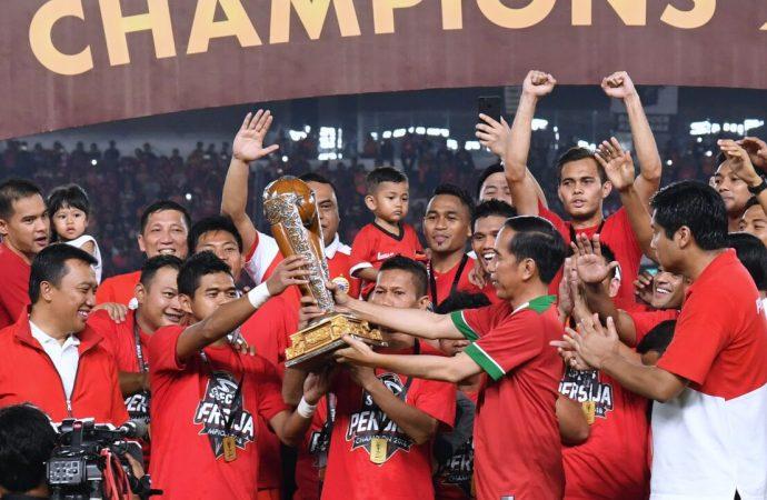 Para Legenda Olahraga Saksikan Kemenangan Persija
