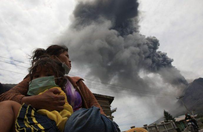 Pertamina Siapkan Bantuan Darurat Erupsi Sinabung