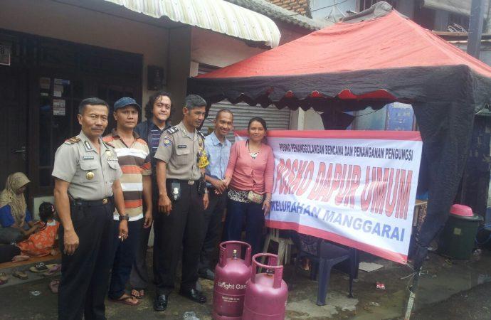 Pertamina Bantu LPG untuk Dapur Umum di Lokasi Banjir Jakarta
