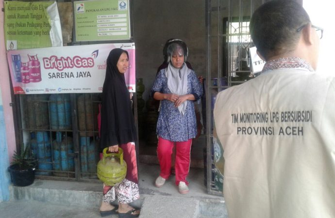 Pertamina dan Dinas ESDM Aceh Awasi Penggunaan LPG Subsidi