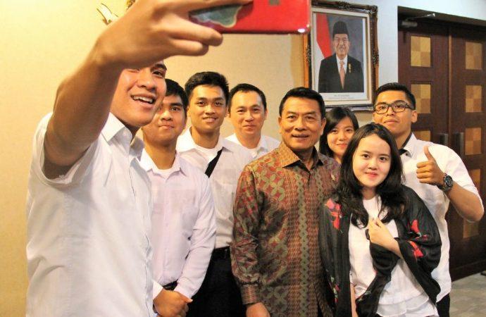 GO Indonesia Sebarkan Virus Optimisme