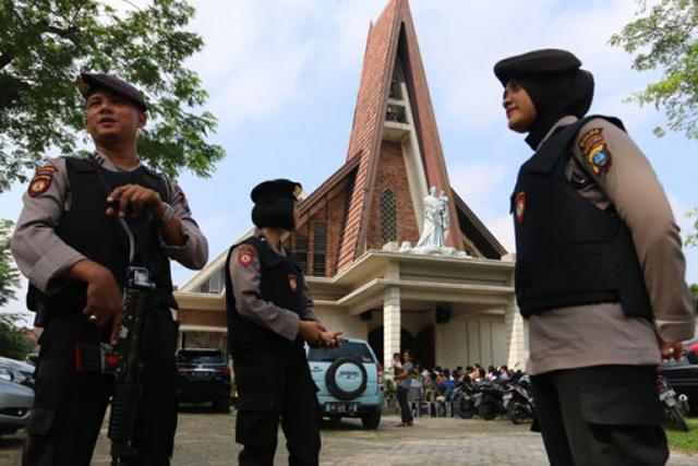 PGI Sebut Bom Gereja Surabaya Terorisme Terencana