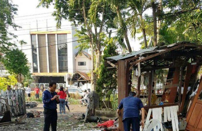 Masih Ada Bom Aktif di Lokasi Pemboman Gereja Surabaya
