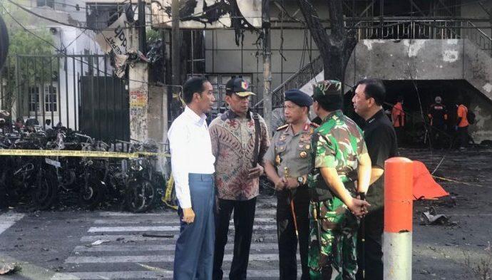 Jokowi ke Surabaya, 7 Jenazah Belum Dievakuasi