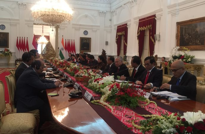 Inilah MoU yang Dihasilkan Pertemuan Bilateral Indonesia-India