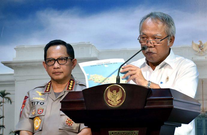 Menteri PUPR Memastikan Seluruh Jalur Mudik Dalam Kondisi Mantap