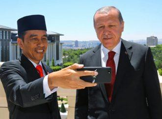 Jokowi Kirim Ucapan Selamat ke Erdogan