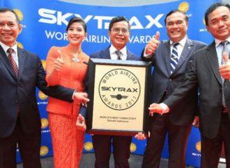 "Garuda Indonesia Raih ""The World's Best Cabin Crew Skytrax"