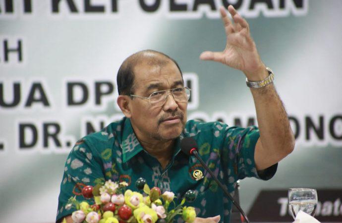 Nono Sampono Berharap RUU Daerah Kepulauan Segera Selesai