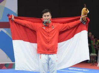 Edgar Xavier Sumbang Medali Pertama untuk Indonesia