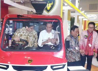 Pameran Otomotif Terbesar di Asia Dibuka Jokowi