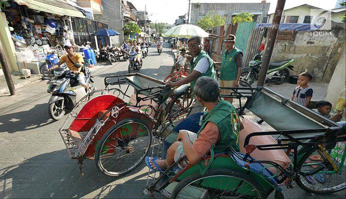 Revisi Perda Tibum untuk Mengakomodasi Becak di DKI Jakarta