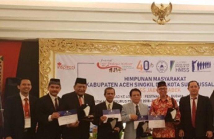 HMSS Jakarta Dorong Seni, Budaya dan Kuliner Aceh Singkil-Subulussalam Go National