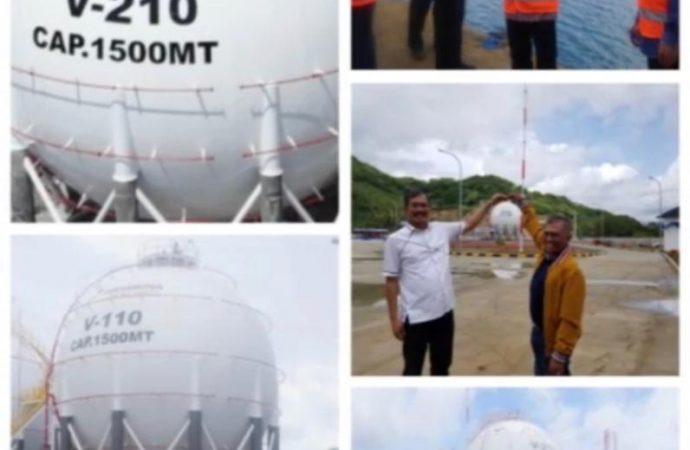 Depot Mini LPG PT Pertamina Patra Niaga di Lombok Diresmikan