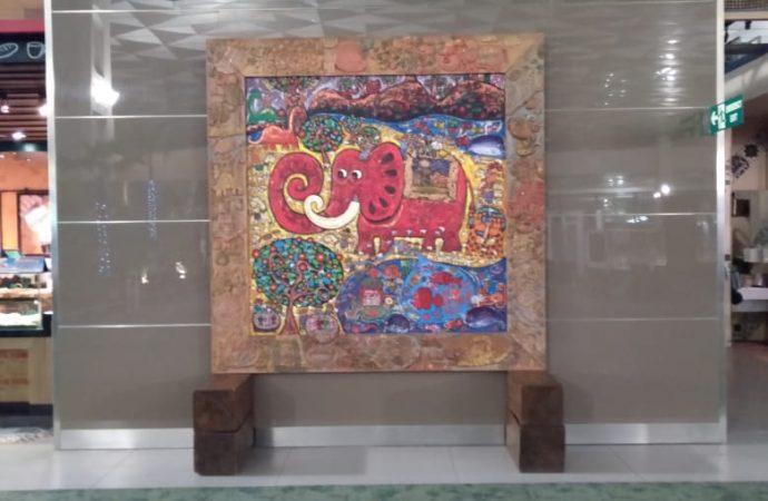 Karya Seniman Kelas Dunia Terpampang di Bandara Soekarno Hatta