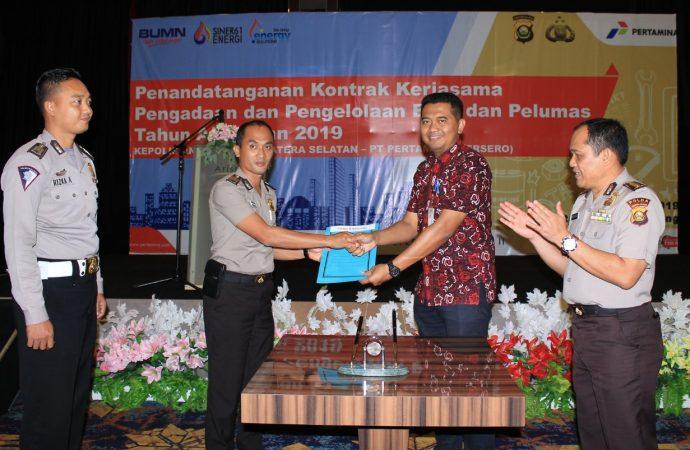 Pertamina Gandeng Polda Sumsel untuk Pengelolaan dan Pengadaan BBM