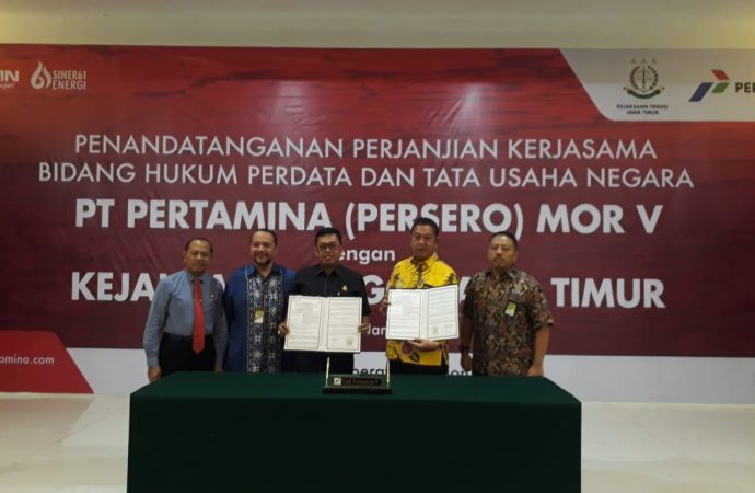 Pertamina MOR V Tingkatkat Sinergi dengan Kejaksaan Tinggi Jawa Timur