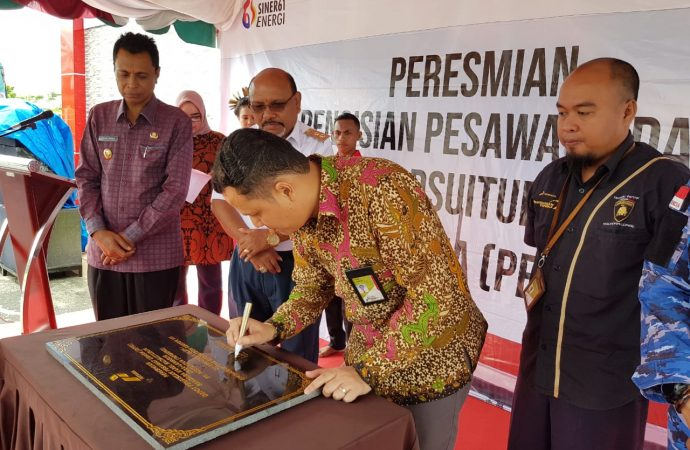 Pertamina Resmikan Depot Pengisian Pesawat Udara (DPPU) Karel Satsuit Tubun – Langgur Kabupaten Maluku Tenggara