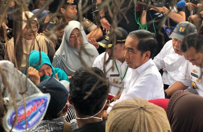 Jokowi Tak Mau Bangun Huntara untuk Korban Tsunami