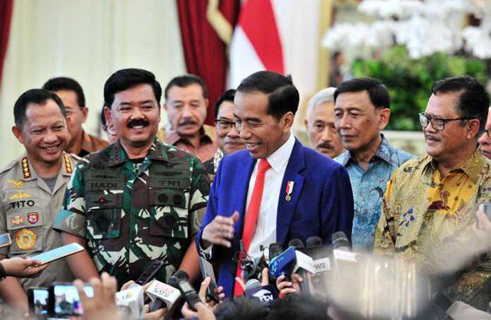 Jokowi Sebut Ada 60 Jabatan Bintang untuk Pati TNI