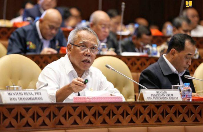 Menteri PUPR: Ada Tiga Program RPJMN Sulit Tercapai