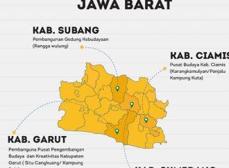 Jabar Bakal Punya Empat Pusat Kebudayaan Baru