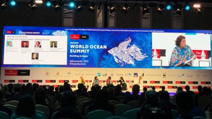 Menteri Susi Paparkan Potensi Laut RI di WOS 2019