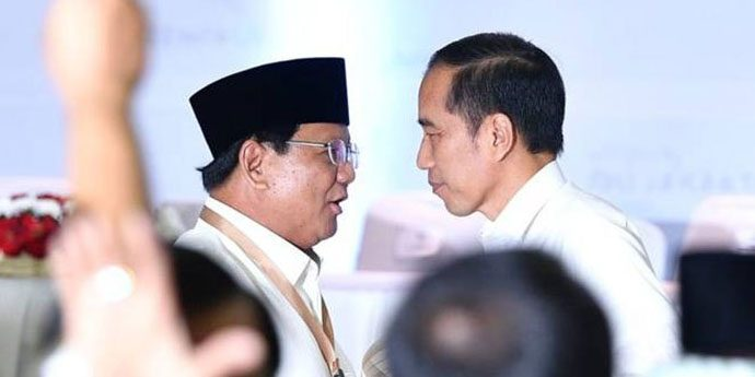 Lembaga Survei Terafiliasi Prabowo juga Menangkan Jokowi