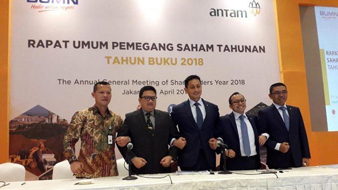 Pasar Merespon Negatif Hasil RUPSLB ANTM di Hotel Borobudur