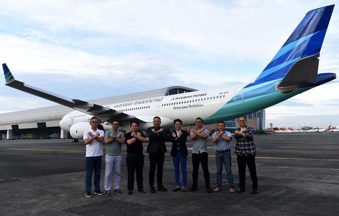 Mitsubishi Perkuat Kerjasama dengan Garuda Indonesia