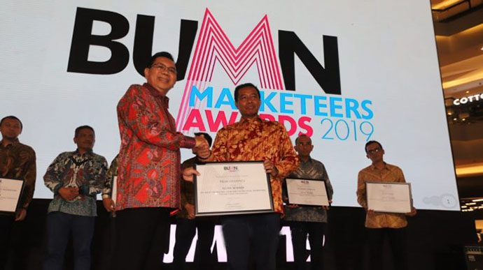 Pelni Logistics Raih 4 Penghargaan BUMN Marketeers Awards 2019