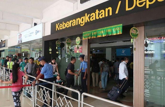 Jumlah Penumpang di Bandara Halim Perdanakusuma Melonjak