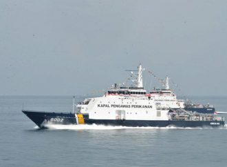 Kapal Pengawas KKP Periksa Kapal Ikan Jepang
