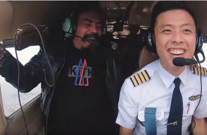 Pilot Ini Dilarang Terbang Karena Manuvernya Bersama Limbad