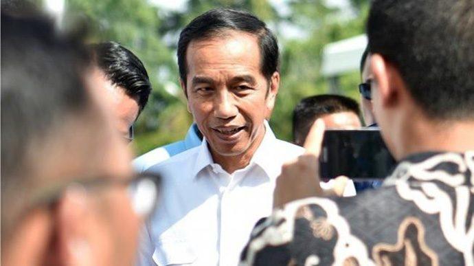 Hasil KPU Keluar, Jokowi: Alhamdulillah