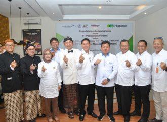Pegadaian, Garuda, PTPN III, & Taspen Jalin Kerja Sama