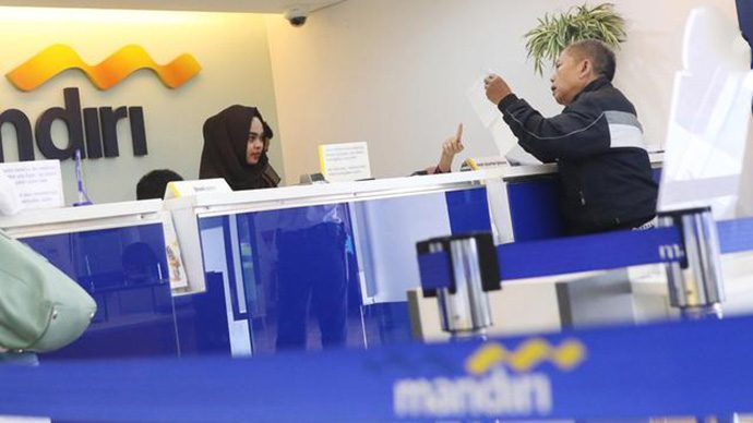 Libur Lebaran, 350 Kantor Cabang Bank Mandiri Tetap Buka