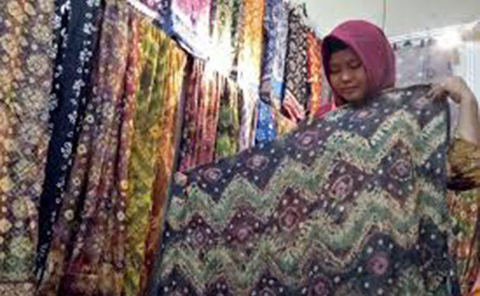 Stan Batik Dominasi Pameran Destinasi Indonesia Expo