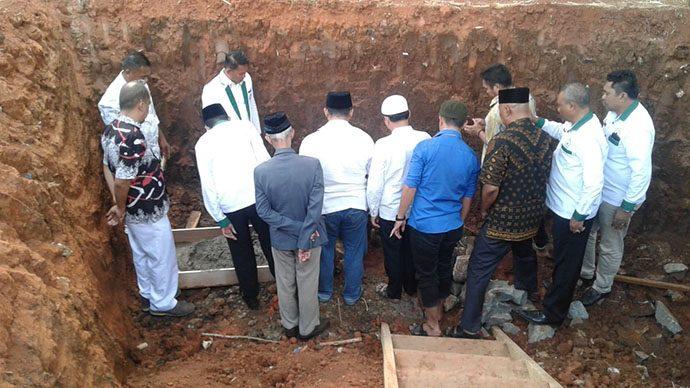 Akomodir Keinginan Warga, Umar Key Bangun Masjid