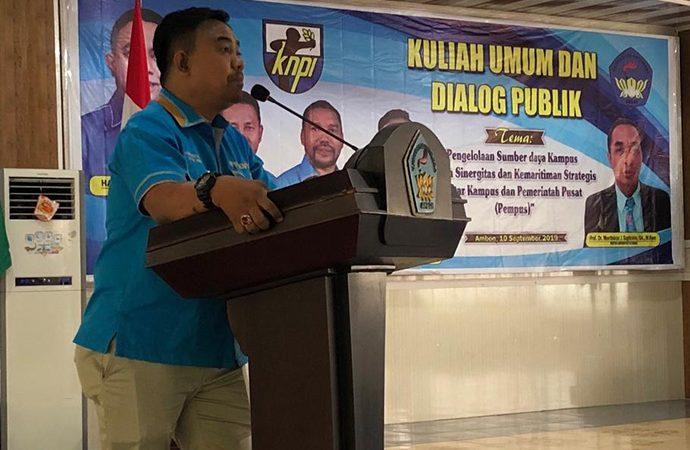 KNPI Minta Pemuda Maluku Kawal Pembedayaan Sumber Daya Kelautan